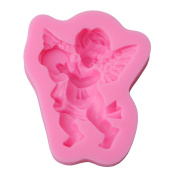 Gluckliy DIY Angel Baby Silicone Mould Chocolate Sugarcraft Fondant Mould Cake Decorating Mould Bakeware Baking Tools