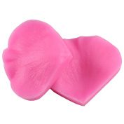 Gluckliy DIY Rose Petal Leaf Shape Silicone Mould Chocolate Sugarcraft Fondant Mould Cake Decorating Mould Bakeware Baking Tools