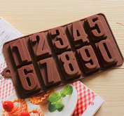 High Quality Numbers Silicone Cake Mould, Cake Decoration, Chocolate Baking Mould