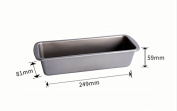 Pie Quiche Baking Pans Tin Dishes Tray, Strip Toast Cheese Cake Mould, 25Cm