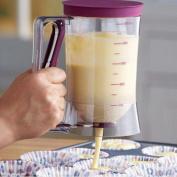 Cupcake Batter Dispenser Pancake Cookie Cake Muffins Batter Dispenser Kitchen Easy Pour Kitchen Tool