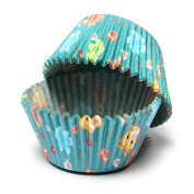 100Pcs Cat Flowers Cupcake Muffin Baking Paper Cups Party Decor