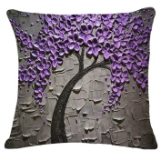 Cushion Covers,LMMVP Fashion Tree Leaves Sofa Bed Home Decoration Festival Pillow Case Cushion Cover