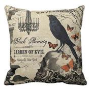 Cushion Covers,LMMVP Halloween Pillowcases Linen Sofa Cushion Cover Home Decor