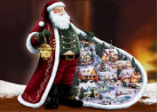 5D DIY Diamond Painting Rhinestone Pictures, Santa Claus Pure Manual Crystals Embroidery Kits Arts, Crafts & Sewing Cross Stitch