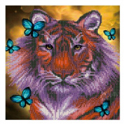 5D Diamond Painting ,Awakingdemi DIY Painting Butterfly Lion 5D DIY Diamond Cross Stitch Rhinestones Needlework Embroidery