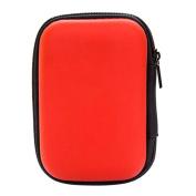 Rectangle Storage Case, FTXJ Mini Zipper Bag Headset Cosmetic Finger Toy Organiser
