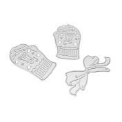Scrapbooking,IEason Merry Christmas Metal Cutting Dies Stencils Scrapbooking Embossing DIY Crafts