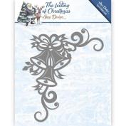 Amy Design - The Feeling of Christmas - Christmas Bells Corner Cutting Dies ADD10114