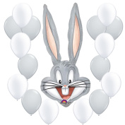 Looney Tunes Bugs Bunny Super Shaped Party Balloon Bundle