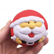 Stress Relieve Toy Exquisite Santa Claus Scented Squishy Charm Slow Rising 7cm Simulation Toys