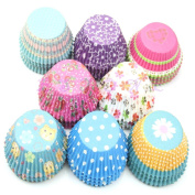 AISme 100Pcs Paper Cake Cup Cupcake Cases Liners Muffin Kitchen Baking Wedding Party