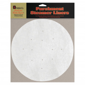 Helen's Asian Kitchen Perforated Parchment Bamboo Steamer Liners, 20 Count
