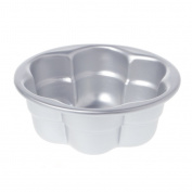 BetterM Aluminium Alloy Flower Shape Cake Mould , 10cm Baking Mould Pizza Pan Pastry Tray Cooking Maker