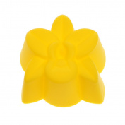 GaoCold cake mould 5cm Orchid Flower Shape Silicone Cake Cookie Chocolate Muffin Mould Baking Tools