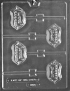 Fangs Lollipop Chocolate Mould - H168 - Includes Melting & Chocolate Moulding Instructions