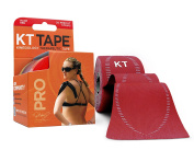KT TAPE PRO Kinesiology Sports Tape, 20 Precut 25cm Strips, 100% Synthetic, Water Resistant, Breathable, Free Videos, Pro & Olympic Choice