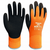 Wonder Grip Safety Coldproof Protection Double Layer Latex Gloves