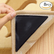 Rug Grippers, Carpet Rubber Anti-skid Pad with Strong Sticky Double Sided Carpet Tape By Yesreal