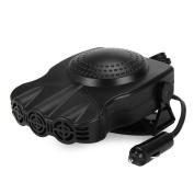 Car Heater Fan, Eleoption 150W 30 Seconds 3 Fasts Heating Portable Car Vehicle Heater Fan, Quick Defroster Demister, DC 12V