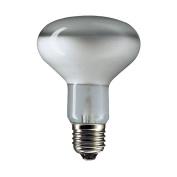 10 x 60WATT R80 PEARL REFLECTOR LAMP BULB ES SPOTLIGHT SCREW CAP