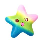 LLguz 13cm Galaxy Starfish Decompression Toys kids Squeeze Toy Gifts