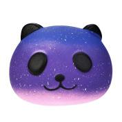 LLguz Galaxy Cute 10cm Panda Baby Cream Decompression Toys kids Squeeze Toy Gifts