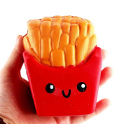 LLguz 12CM Soft Cute French Fries Cream Decompression Toys kids Squeeze Toy Gifts