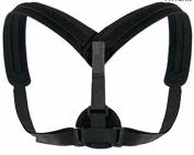 Greta OTO Posture Corrector Brace for Men & Women – Wide Straps, Adjustable Universal Figure 8 Shoulder, Upper Back & Clavicle Support Brace – Soft & Comfortable – No slouching or Hunched Back
