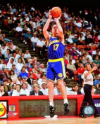 Chris Mullin Golden State Warriors NBA Action Photo #1 8x10