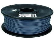 """3 mm (1/8"""") PLA FILAMENT - GREY - 1 kg / 2.2 lb"""