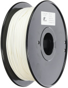 3D Prima TW-FLX300WH TPE Flexible Filament, 3 mm, 1 kg Spool, White