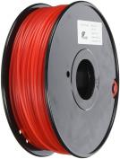 3D Prima TW-NL300RE Nylon Filament, 3 mm, 1 kg Spool, Red