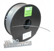 3D Printer Filament ABS 1.75mm - Silver - 500g (1/2Kg) Reel / Spool - Makerbot, UP, Leapfrog