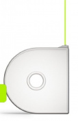 Cubify 350171 Cube 3D Printer Cartridge - ABS Neon Green