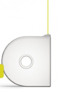 Cubify 380145 Cube 3D Printer Cartridge - PLA Yellow