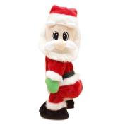 VENMO Singing Electric Soft Toys Twerking Twisted Hip Christmas Santa Claus Figure Plush Doll Ornament Xmas Gift
