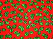 Christmas Polycotton Range - Holly