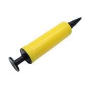 Welim Balloon Pump Air Balloon Pump Inflator Balloon Inflator Special Balloon Pump Applies to various parties and events Yellow and black 1Pieces