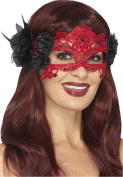 Women Fancy Halloween Party Embroidered Lace Filigree Devil Eyemask Pack Of 3