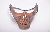 Ticase Skull Mask Half Face Mask Halloween Props