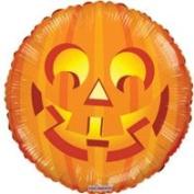 Halloween Round Shape Helium Balloon Jack O Lantern Pumpkin 46cm Party Decoration