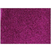 Chunky & Fine glitter fabric sheets x 2 for Hair bow making templates and other crafts