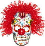 Adults Fancy Halloween Party Horror Scary Day Of The Dead Clown Face Mask