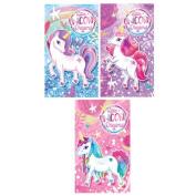 Assorted Unicorn Mini Notebook
