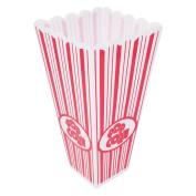 Plastic Popcorn Box 20cms Tall - Pack of 4