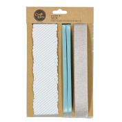 Craftwise Aquamarine Trim Paper Ribbon