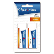 Paper Mate Rapid Eraser 2 Pack White
