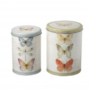 Heaven Sends Decorative Metal Canister Set (17 x 17 x 22cm)