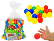 Plastic Balls Swimming Pool Ball Pit Children Fun Party Garden Inside Colourful / 1000 Balls #895 , Menge:100